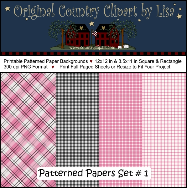 printable patterned paper