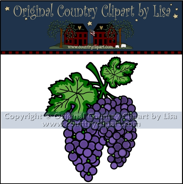 grape vine clipart. Grapes and Grapevine Clip Art