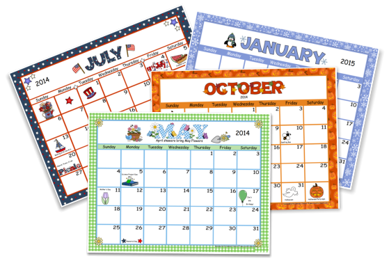 "Calendar Maker Art Explosion : Search results for ""calendar creator clip art calendar"