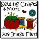 Sewing Crafts 709 Image Files! &More