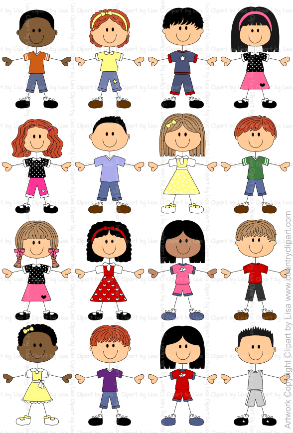Stick Figures and Faces Family Graphics | Country Clipart ...
