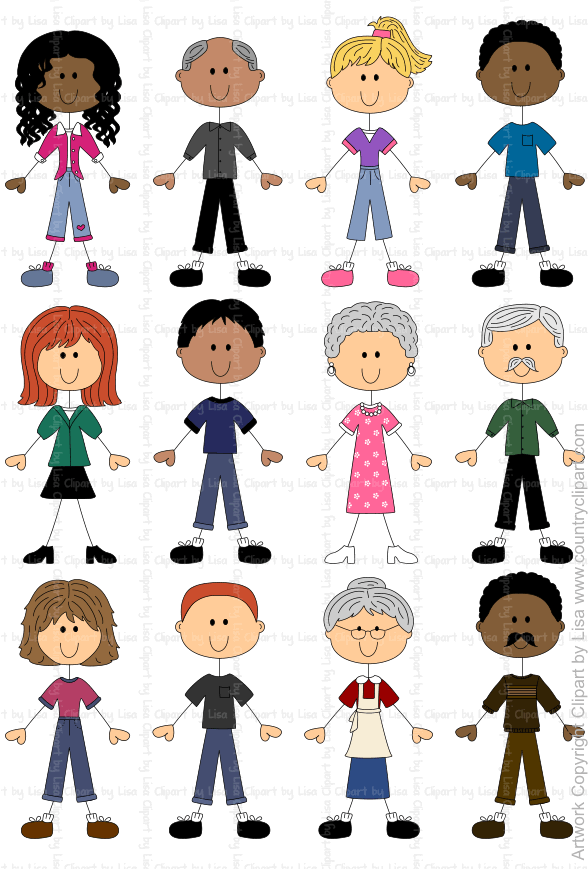 stick figure people graphics and clipart samples 10