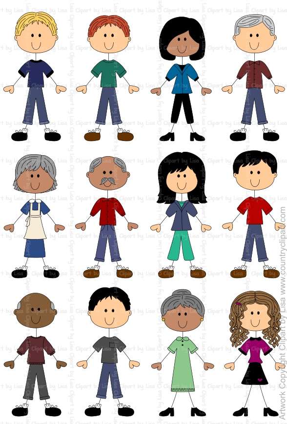 stick figures and faces family graphics country clipart by lisa rh countryclipart com clipart of people praising god clipart of people playing card games
