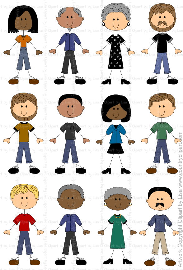 stick figure people graphics and clipart samples 8